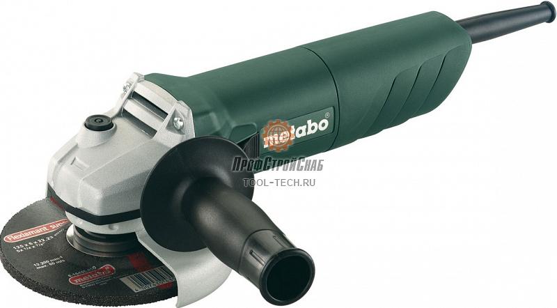 Угловая шлифовальная машина Metabo W 1080-125 606722000