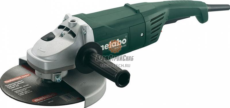 Угловая шлифовальная машина Metabo W 2200-230 600335000