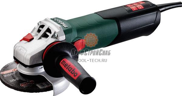Угловая шлифовальная машина Metabo WEVA 15-125 QUICK 600496000