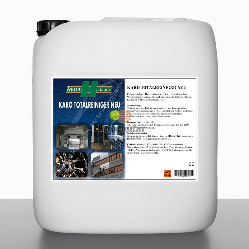 Универсальное профессиональное чистящее и моющее средство Hera Chemie Karo Totalreiniger 022-10E-30
