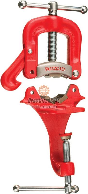 Верстачные откидные тиски для труб со струбциной RIDGID 39 40125