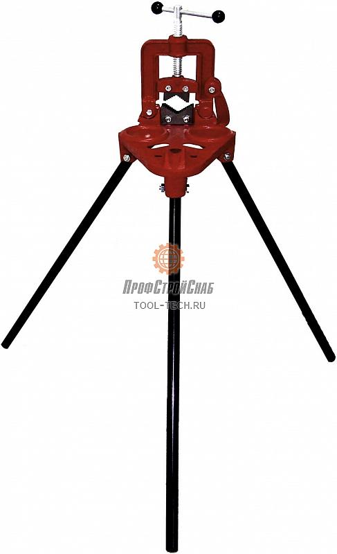 Верстак складной универсальный с откидными трубными тисками для труб до 3