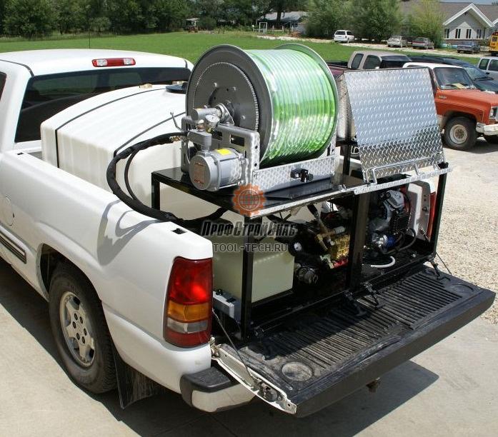 Водоструйные машины для очистки труб (размещение в кузов) CAM Spray Серии VM, TM, PU VM3708H