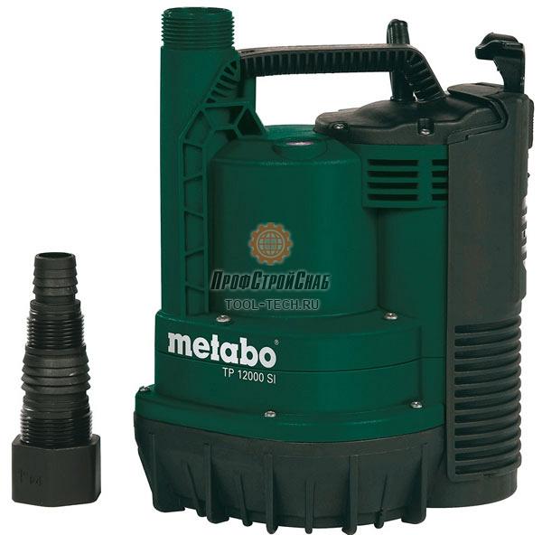 Водяной погружной насос Metabo TP 12000 SI 0251200009
